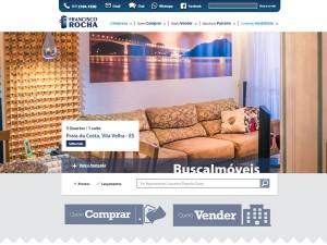 Novo website da Francisco Rocha Imóveis