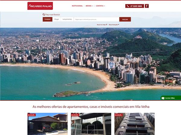 Novo Website da Ricardo Fialho Imóveis